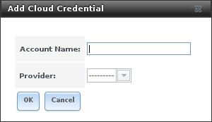 Добавление облачных учетных данных в FreeNAS