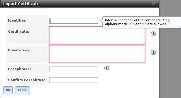 Импорт сертификата в FreeNAS