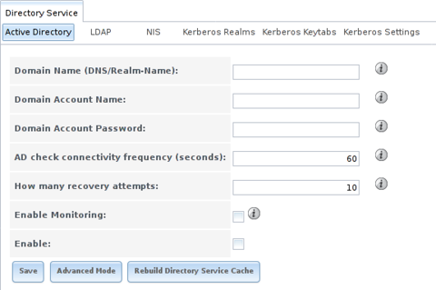 Настройка Active Directory в FreeNAS