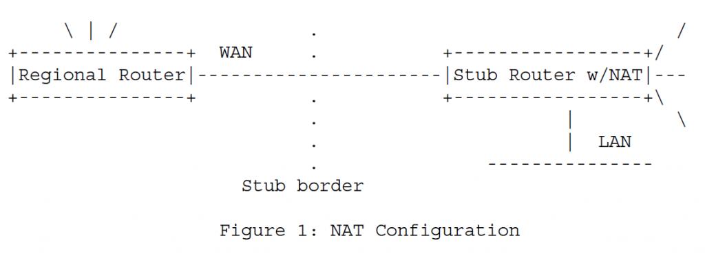 Рисунок 1 - Конфигурация NAT