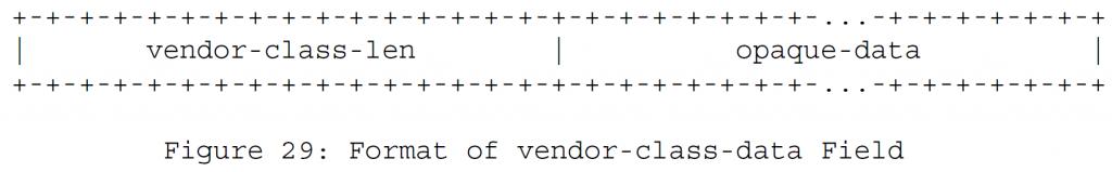 Рисунок 29 - Формат поля данных поставщика-данных