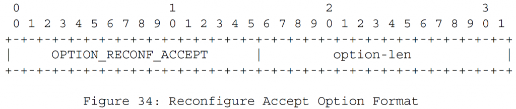 Рисунок 34 - Переконфигурировать формат опций Accept