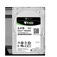 Жёсткий диск Seagate Exos 10E2400 HDD вид спереди