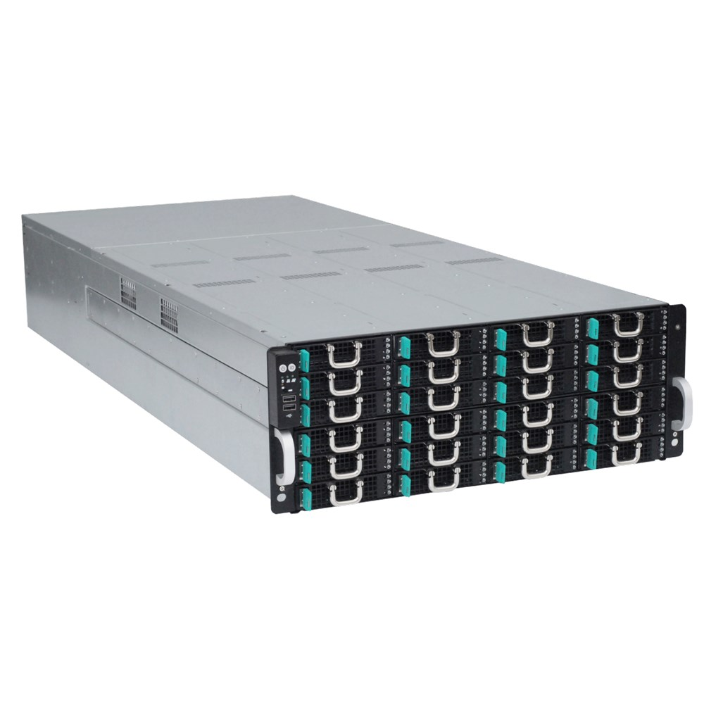 Сервер хранения данных ASUS S4096Z - вид под углом
