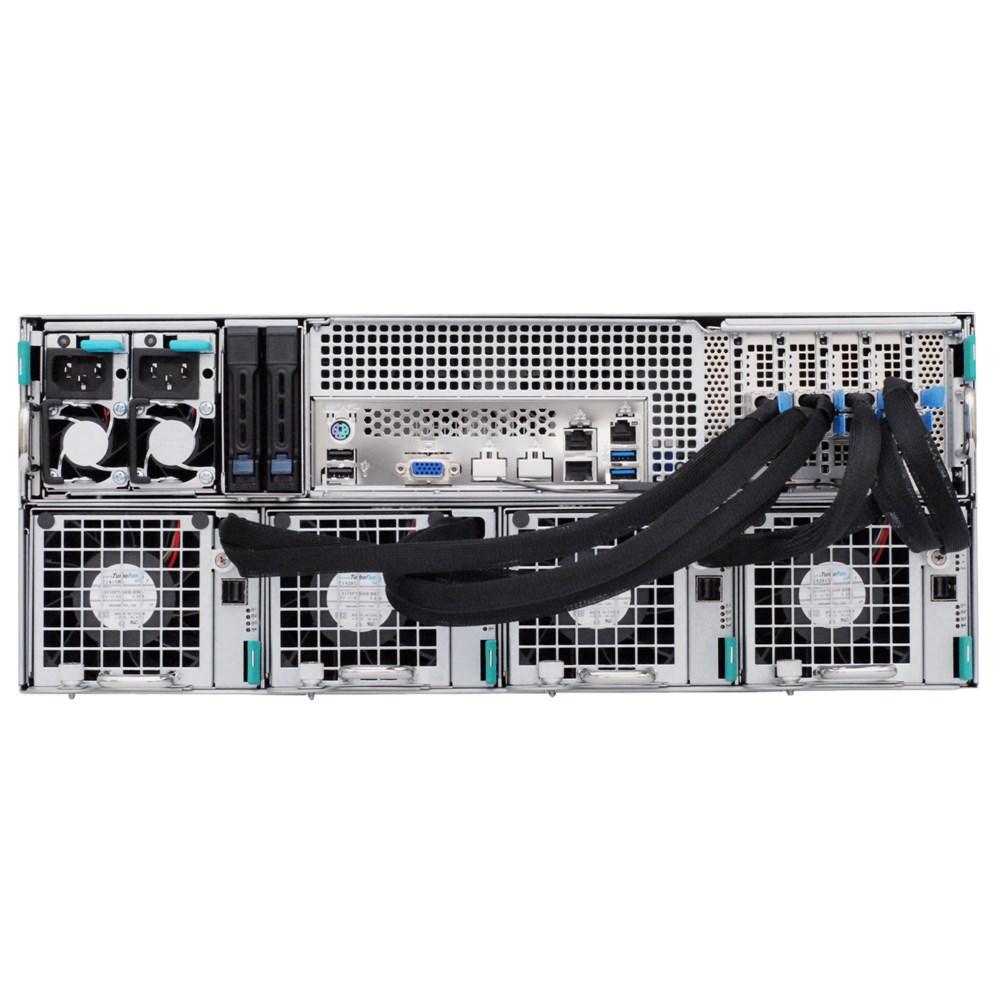 Сервер хранения данных ASUS S4096Z - вид сзади