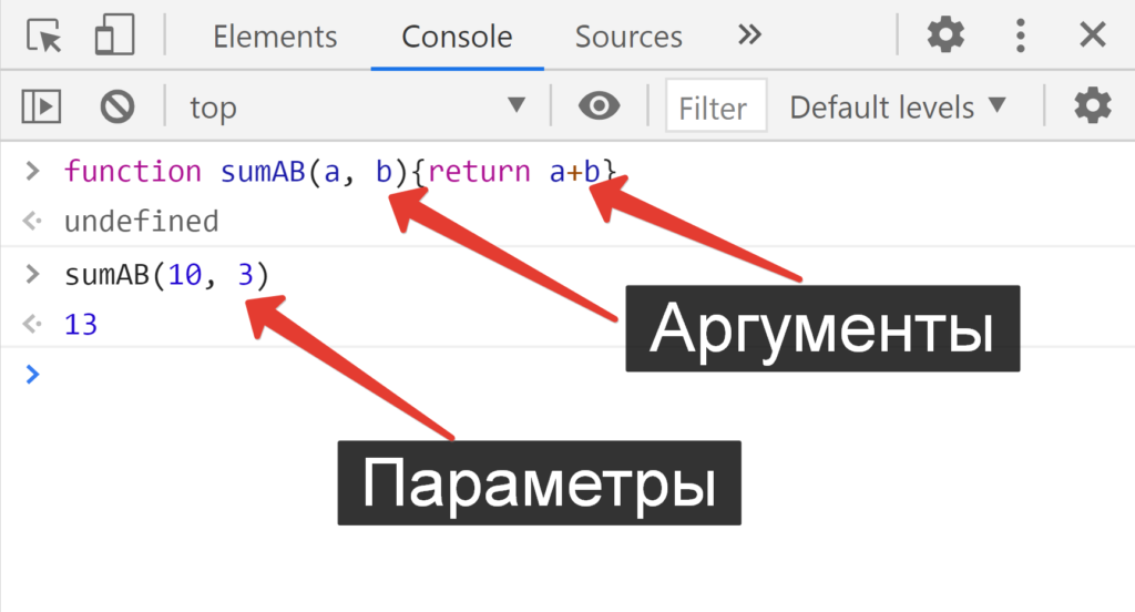 Аргументы Функции и Параметры Функции - JavaScript