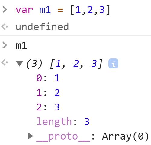Массив номер 1 - JavaScript