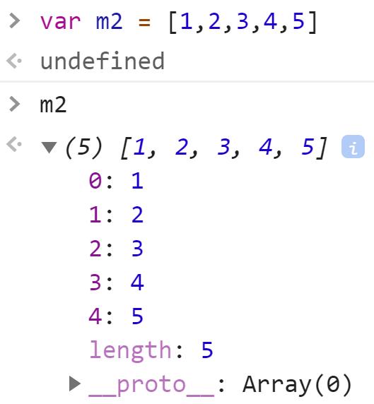 Массив номер 2 - JavaScript