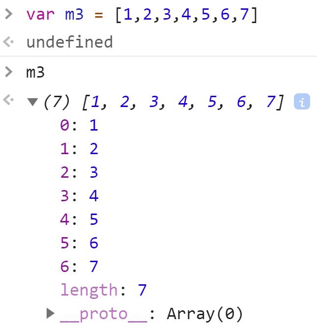Массив номер 3 - JavaScript