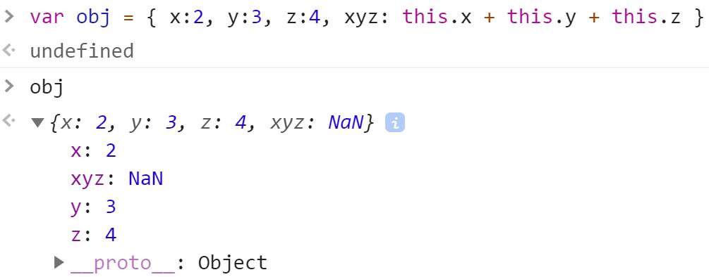 NaN вместо вычисления значения в объекте - JavaScript