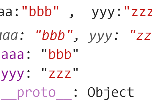 Объект с двумя элементами - JavaScript