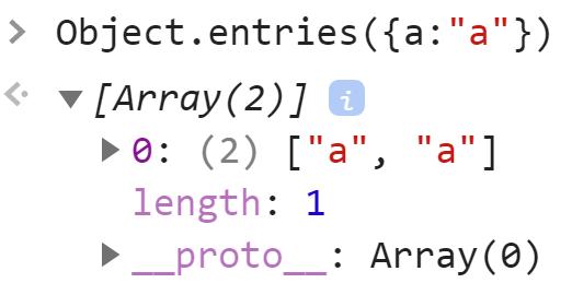 Object.entries - JavaScript