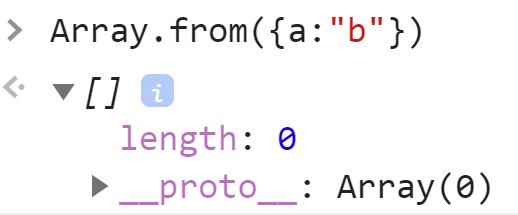 Передача объекта в Array,from - JavaScript