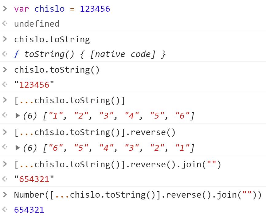 Перевернули число - JavaScript
