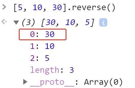 Перевернули массив - JavaScript