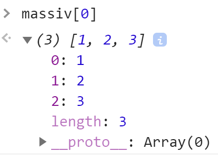 Первый элемент массива является массивом - JavaScript