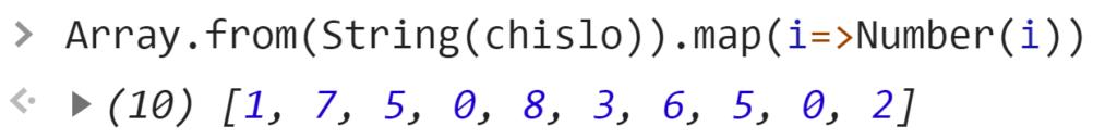 Получение цифр из числа - JavaScript