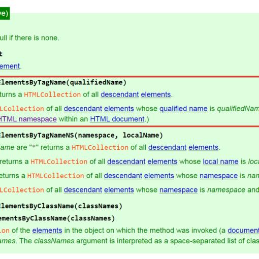 Получение всех потомков DOM-элемента - JavaScript