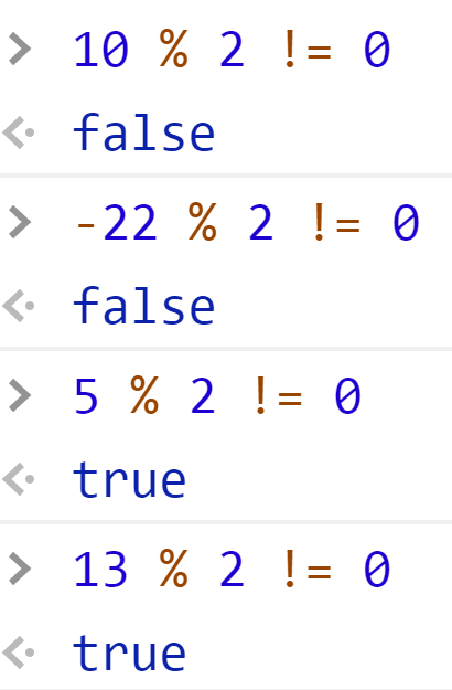 Проверили на нечётное - JavaScript