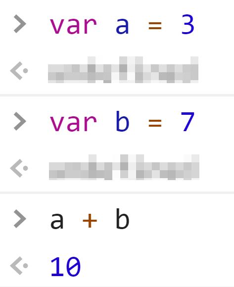 Сложение двух переменных из чисел - JavaScript