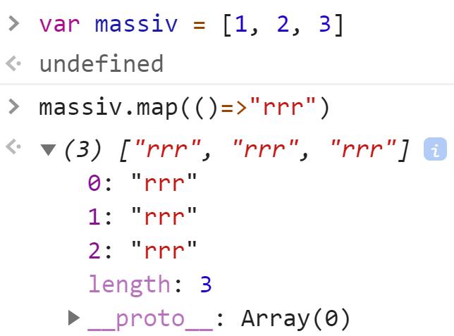 Стрелочная функция без параметров возвращает строку - JavaScript