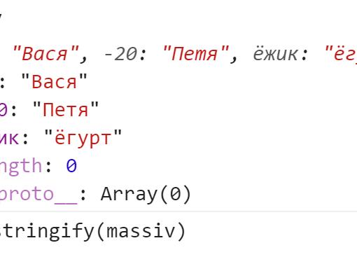 Только две скобки в строке - данные пропали после приведения - JavaScript